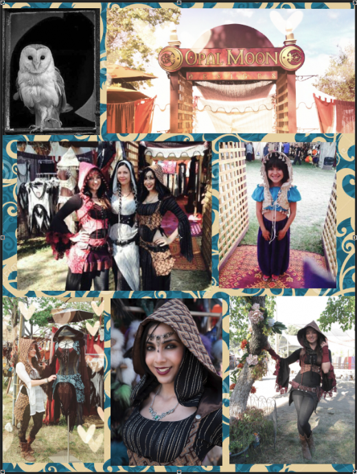 Ren. Faire Collage #1